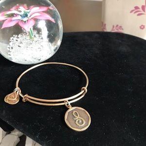 Alex & Ani Initial S Bracelet